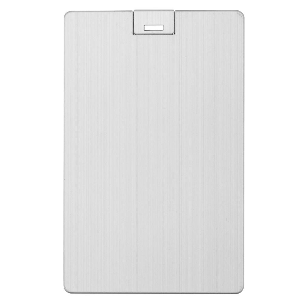 Флешка Platinum Card, 16 Гб, серебристая