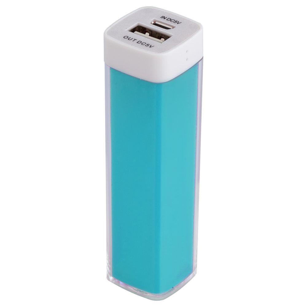 Внешний аккумулятор Bar, 2200 мАч, ver.2, бирюзовый