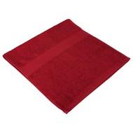 Полотенце махровое Soft Me Small, бордовое