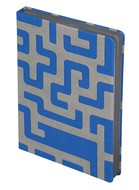 Ежедневник Labyrinth, недатированный, синий