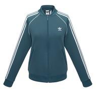 Куртка тренировочная женская на молнии SST TT, синяя
