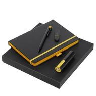 Набор Black Maxi, черно-желтый