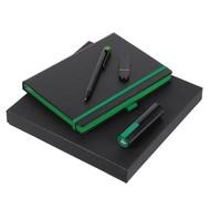 Набор Black Maxi, черно-зеленый