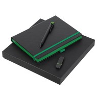 Набор Black Memory, черно-зеленый