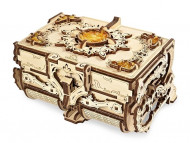 3D-ПАЗЛ UGEARS «Янтарная шкатулка»